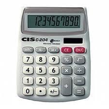 Calculadora De Mesa C-204