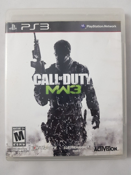 Call Of Duty Mw3 Modern Warfare 3 Ps3 Mídia Física