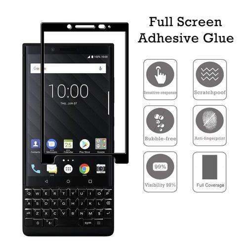 Blackberry Keytwo Key2 Vidrio Templado 4.5 Pulgadas Pack X2