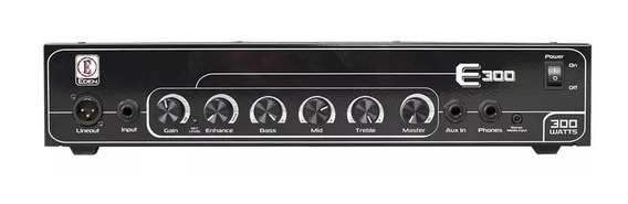 Cabezal Amplificador Bajo Eden E300 300 Watts
