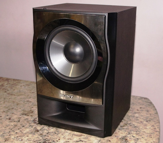 Subwoofer Ativo Sony Muteki M3 175w Rms - C/ Amplificador