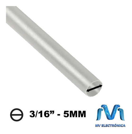 1m Thermofit De 3/16 5mm Termocontractil Termoretractil