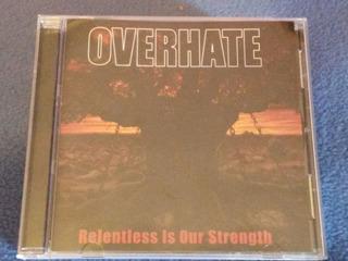Cd Original Del Grupo Venezolano Overhate