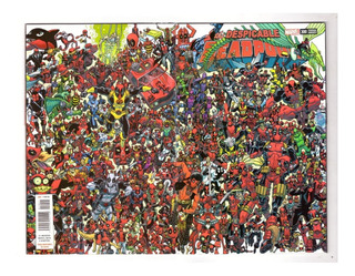 The Despicable Deadpool #300 - Variante 1 - Televisa