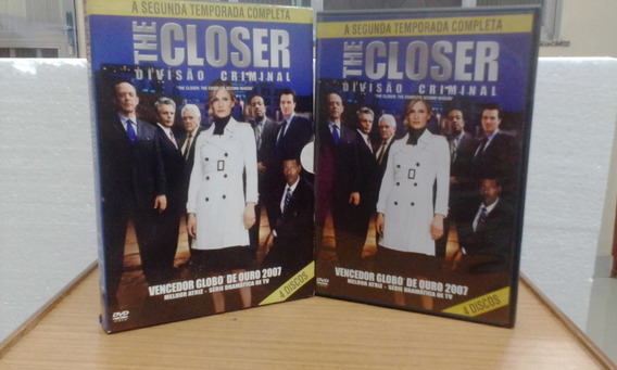 Dvd The Closer Divisão Criminal Segunda Temporada Legendado
