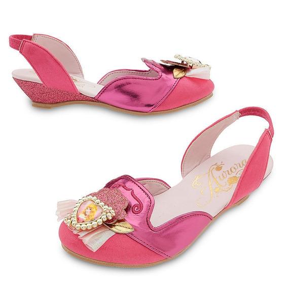 Sapato Princesa Aurora Original Da Loja Disney