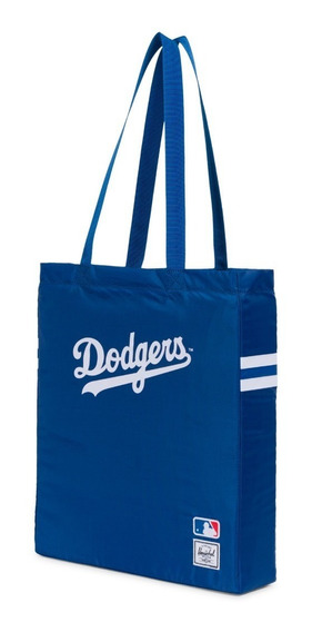 Bolso Herschel Plegable Tote Mlb Los Angeles Dodgers