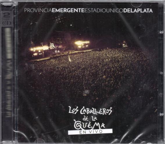 Caballeros De La Quema Vivo Provincia Emergente Cd + Dvd