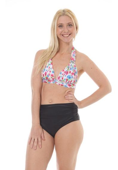 Bombacha Bikini Tiro Alto Talle Grande