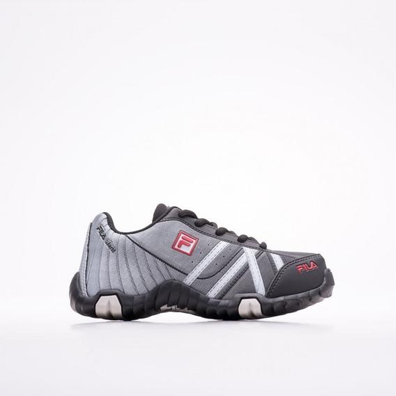 Tênis Fila Slant Summer Infantil 31o140x_115 Black/silver