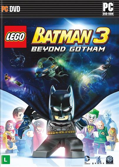 Lego Batman 3 Beyond Gotham / Pc - Português - Novo Lacrado