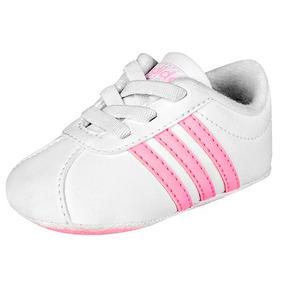 Tenis Casual adidas Court Niñas Sintetico Blanco 23488 Dtt