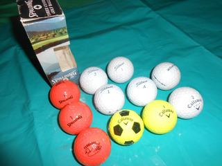 Pelotas Golf Marca Spalding Y Otras Set De 11 Pelotas Nueva