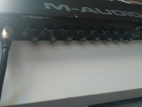 Interface De Áudio 8in 8out Maudio Mtrack Eight