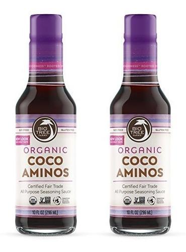 Big Tree Farms Coco Aminos, Alternativa Organica De Salsa De
