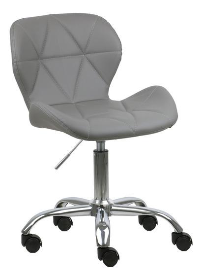 Cadeira Espanha Em Pu C/ Rodizio Promoção Frete Grátis