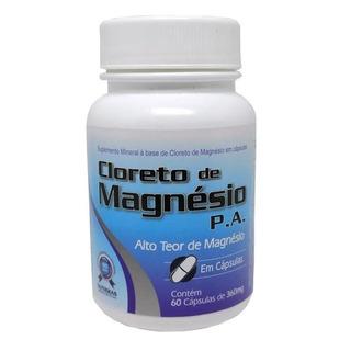 Cloreto De Magnesio Pa 60 Caps - Sanibras