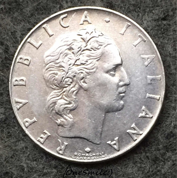 Onesmile:) Moneda Italiana 50 Lire Año 1972