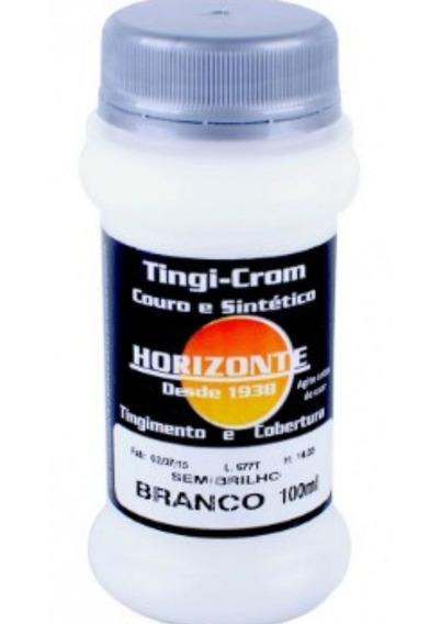 Tinta De Couro- Sinteticos- Autos Semi-brilho Cor Branca