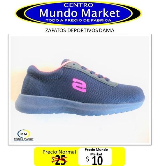 Mundo Market Zapato Deportivo De Dama