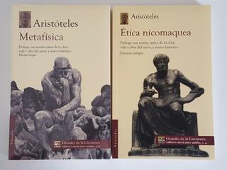 Metafísica + Ética Nicomaquea Aristóteles (2 Libros)