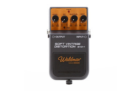 Pedal De Efeito Waldman P/guitarra Soft Vintage Distortion