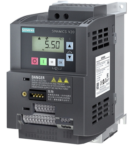 Variador De Frecuencia Siemens Sinamics V20 2hp 220v Escalar