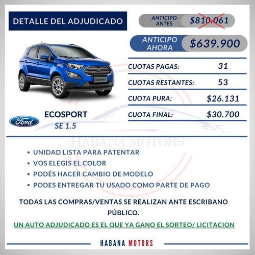 Nueva Ecopsort Se Adjudicada Anticipo $639.900 Y Cuotas