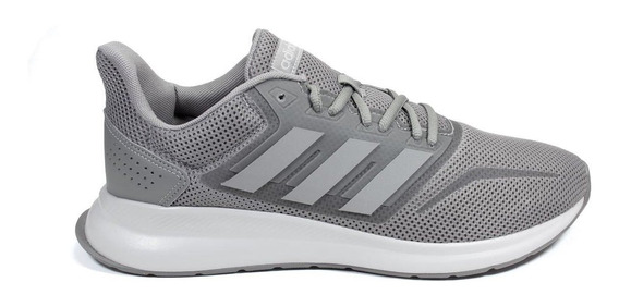 Tênis adidas Run Falcon M Masculino - Cinza/branco Eg8604