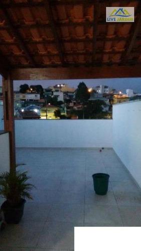 Imagem 1 de 16 de Cobertura Residencial À Venda, Jardim Do Estádio, Santo André. - Co0120