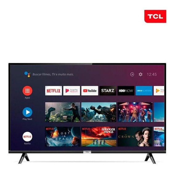 Smart Tv Led 32 Polegadas Android Tcl 32s6500 Hd