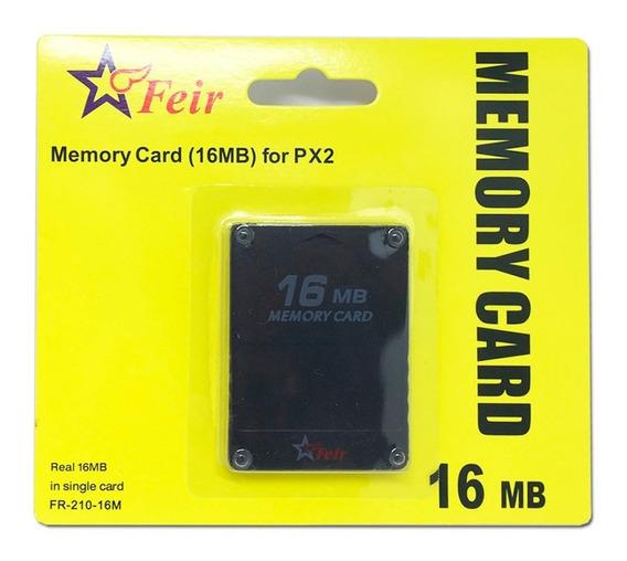 Memory Card Ps2 16 Mb Para Playstation 2 Original Feir