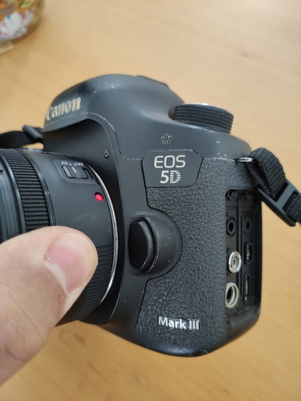 Canon 5d Mark Iii Com Lente 50mm 1.8