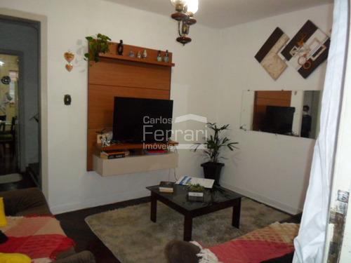 Imagem 1 de 15 de Sobrado Na Santa Teresinha Com 2 Dormitórios, Sem Vaga De Garagem - Cf35948