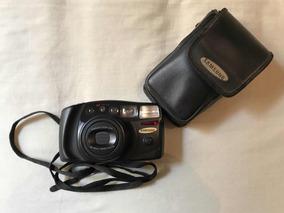 Câmera Samsung Analógica Zoom 38-105 Mm Funcionando