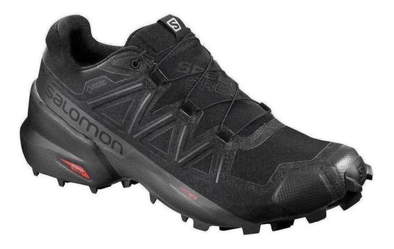 Tenis Salomon Speedcross 5 Gore-tex Negro Caballero Run24.mx