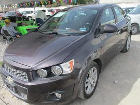 Chevrolet Sonic Ltz, Aut, 4 Cil, Color Negro, Modelo 2015