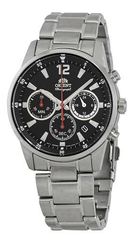 Reloj Orient Hombre Cronografo Tecnología Japónes