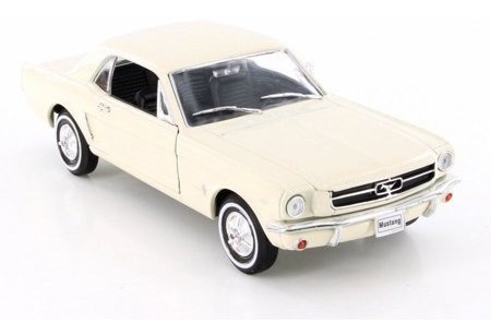 Auto 1964-1/2 Ford Mustang Coupe Welly / Juega Bonito 62