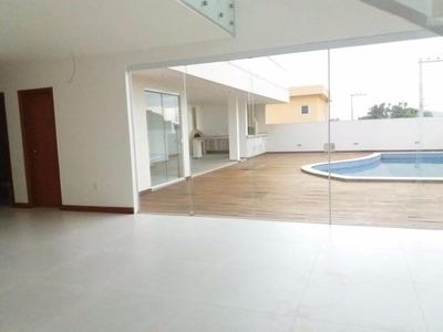 Belíssima Casa Com 03 Suítes Em Condomínio Residencial Dos Ipes - Imboassica - Codigo: Ca0259 - Ca0259