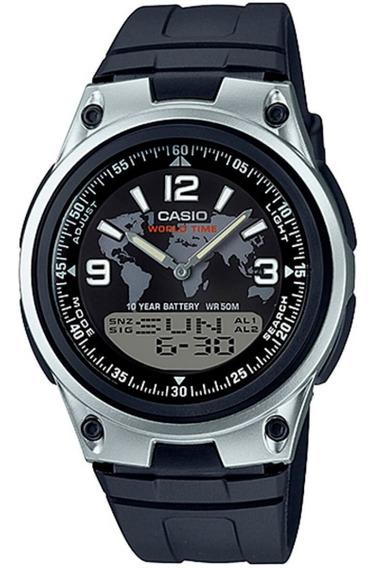 Relógio Casio Masculino Aw-80-1a2vdf Original E Nota Fiscal