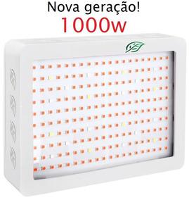 Painel Led Grow Super Chip 1000w Full Spectrum Alface Rúcula