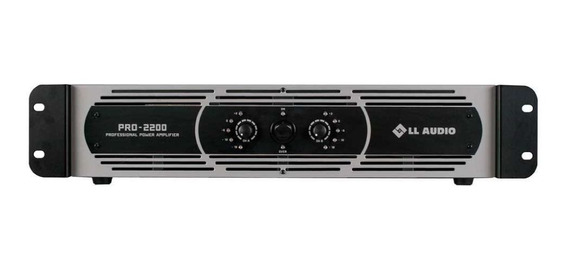 Amplificador De Potência Ll Audio Pro2200 Pro 2200 400w Rms