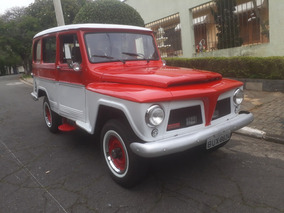 Rural Ford Willys 4 X 4 - 4 Cil - F 75 - F75 - Impecável !!!