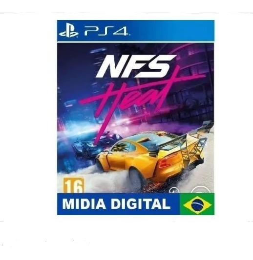 Need For Speed Heat | Ps4 1 | Promoção | Português