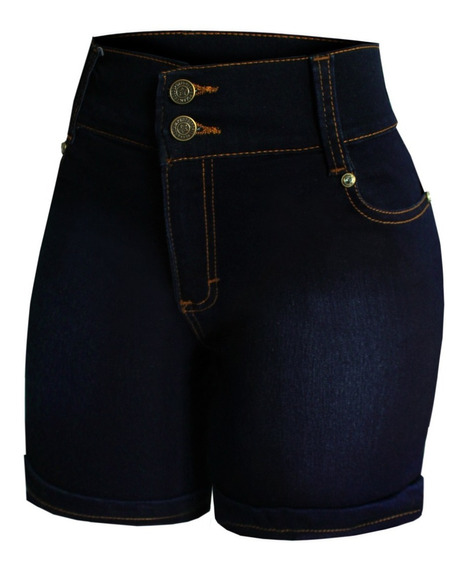 3 Shorts De Mezclilla Ajustable Para Dama Sa Y Es