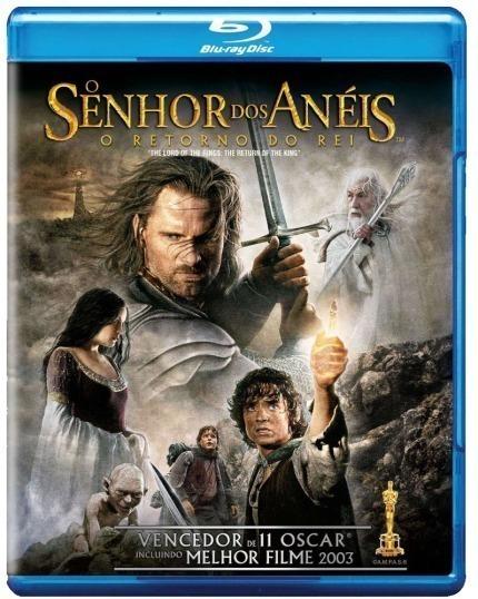 Blu-ray - O Senhor Dos Anéis: O Retorno Do Rei