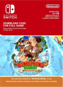 Donkey Kong Country Tropical Freeze Switch Código 16 Digitos