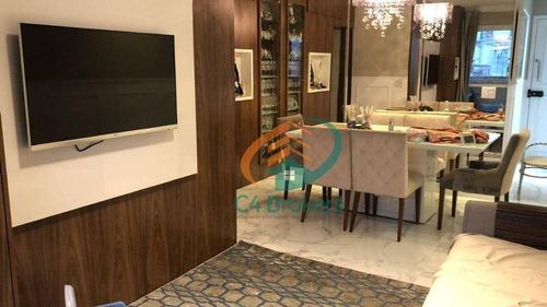 Apartamento Com 3 Dormitórios À Venda, 86 M² Por R$ 525.000,00 - Vila Rosália - Guarulhos/sp - Ap1876