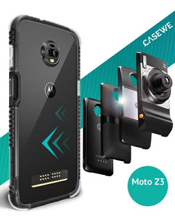 Case / Bumper / Capinha Motorola Moto Z3 Play, Cor: P & T